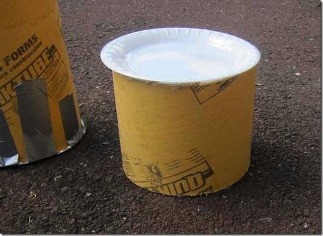 Making Form for DIY Concrete Candle Holder