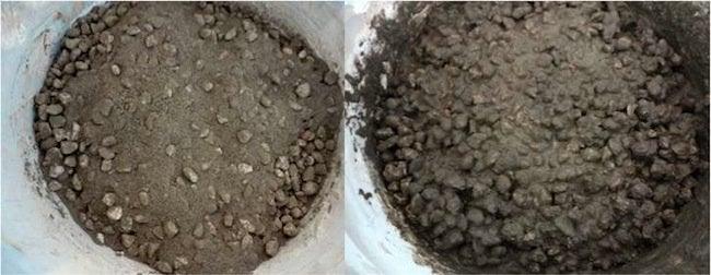 Concrete Mix for DIY Concrete Hand Planters