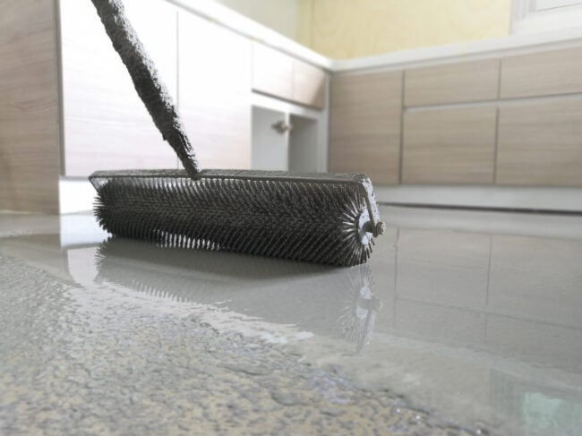 How to Level a Concrete Floor - Self Leveling Resurfacer