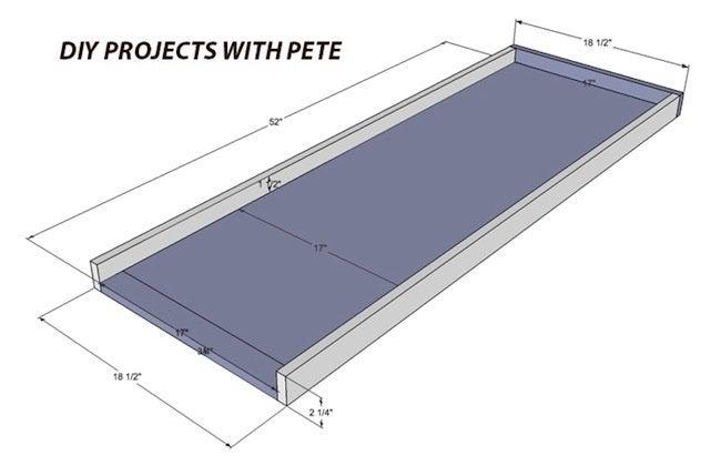 Step 1 DIY Concrete Table
