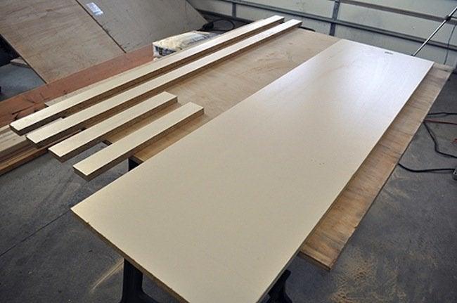 Making DIY Concrete Table