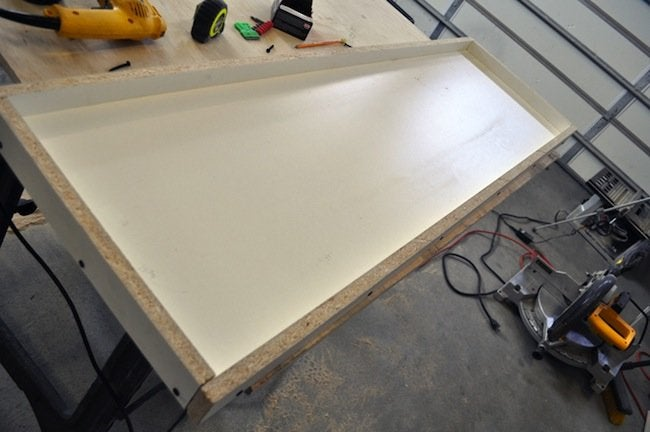 Step 5 DIY Concrete Table