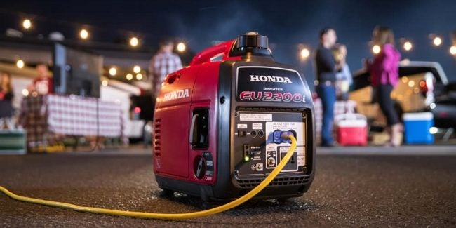 Best Portable Generator: Honda