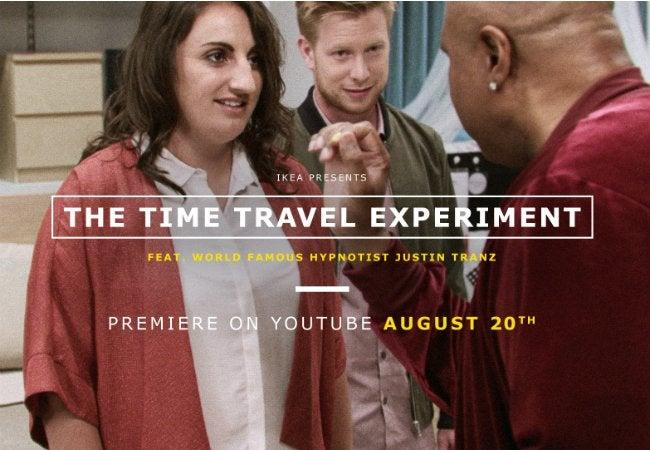 Ikea Time Travel Experiment