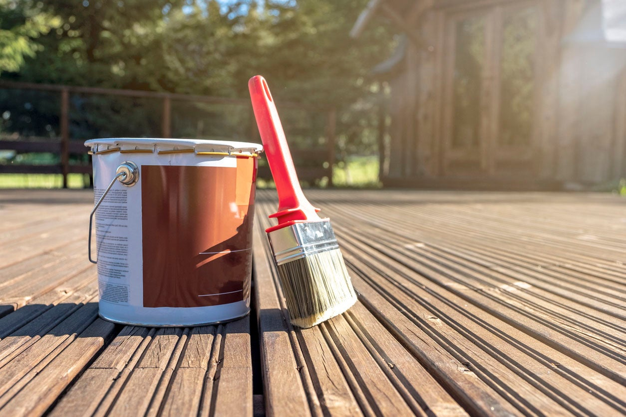 How To Paint A Deck From Preparation