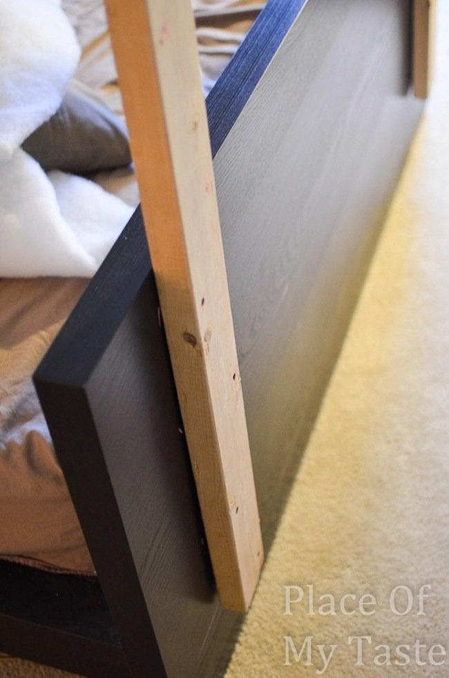 IKEA DIY Headboard Step 2
