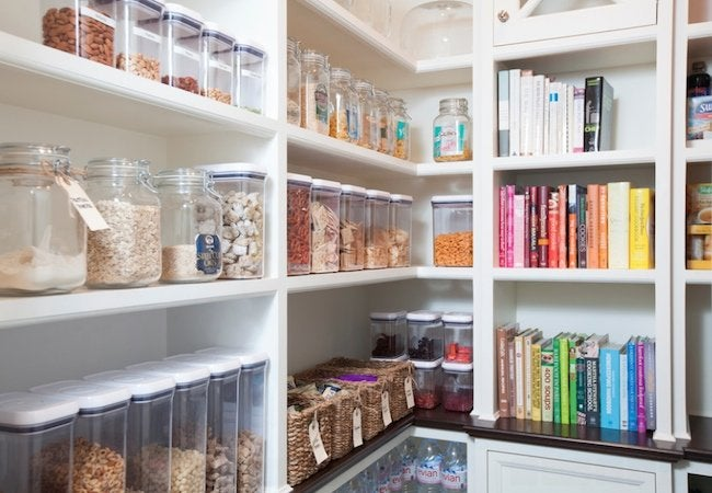 How to Organize a Pantry - Containers
