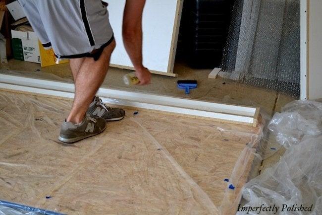 Release agent for DIY Concrete Countertops
