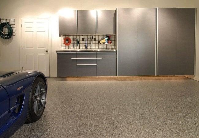 How to Apply Epoxy Floor Paint - TailoredLiving