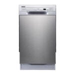 The Best Dishwasher Option: EdgeStar 18 Inch 8 Place Setting Energy Star Built-In