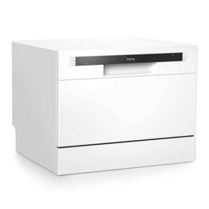 The Best Dishwasher Option: hOmeLabs Compact Countertop Dishwasher