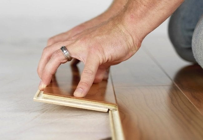 How To Install Flooring Project, Snap Together Laminate Flooring
