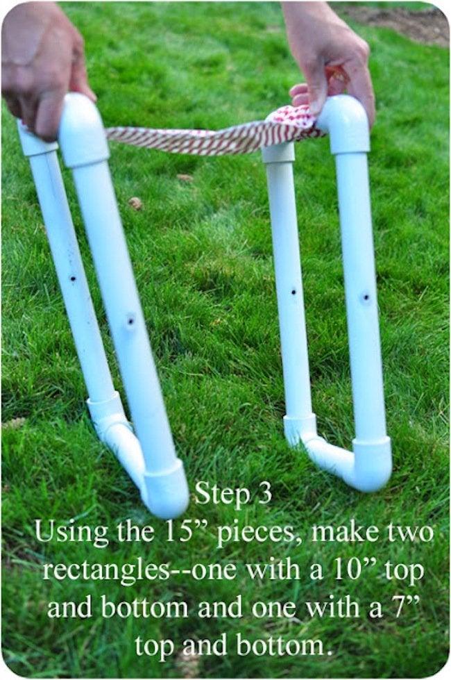 Making DIY PVC Pipe Chair