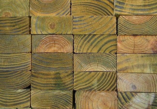 Painting Pressure-Treated Wood