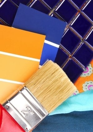 How to Paint Tile - Supplies Detail