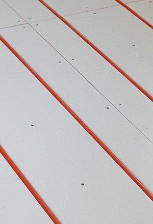 Radiant Heating - Detail Installation
