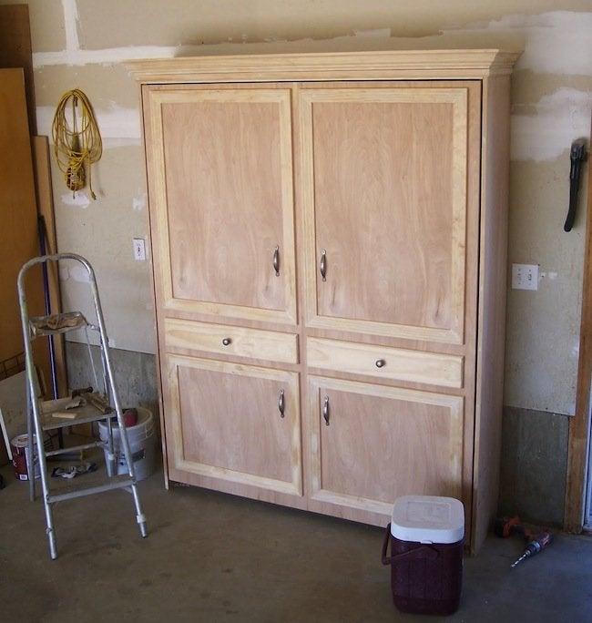 DIY Murphy Bed - Pre-Paint