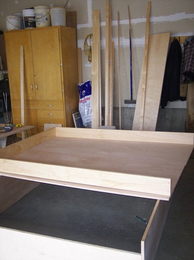 DIY Murphy Bed - Frame