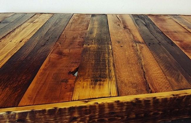 DIY Pallet Desk - Finished Top