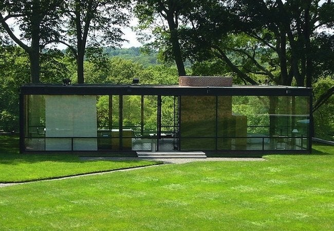 Famous Houses' Leaky Roofs - Glass House