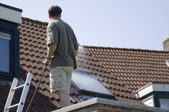 How to Find a Roof Leak Using Water from a Hose