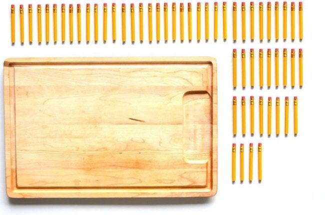 DIY Dish Rack - Materials