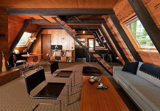 A-Frame Remodel - Homewood Interior