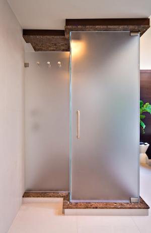 How To Frost Glass 3 Easy Diy Ways To Add Privacy Bob Vila