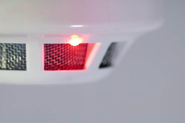 Smoke Detector Chirping Light Beam Interrupted