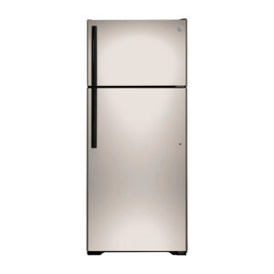 The Best Refrigerator Option: GE 17.5 cu. ft. Top Freezer Refrigerator Silver