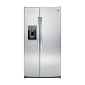 The Best Refrigerator Option: GE 25.3 cu. ft. Side by Side Refrigerator Stainless