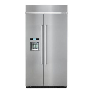 The Best Refrigerator Option: KitchenAid 25 cu. ft. Built-In Refrigerator Stainless