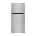 The Best Refrigerator Option: LG 20.2 cu. ft. Top-Freezer Refrigerator Stainless