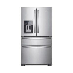 最好的冰箱选项:惠而浦24.5-Cu Ft 4门与冰分配器