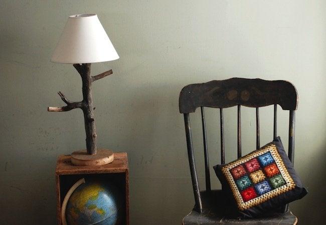 DIY Lamp - Branch