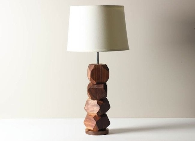 Gem Stacked Lamp - Worley's Lighting