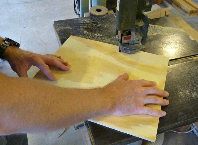 DIY Plywood Magazine Rack - Cutting Plywood