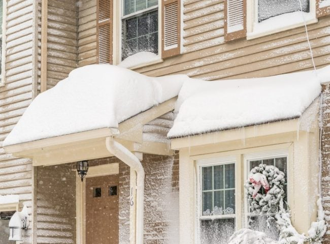 Managing Snow on the Roof: How Much Can a Roof Hold?
