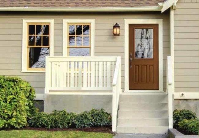 Front Door Installation - Back