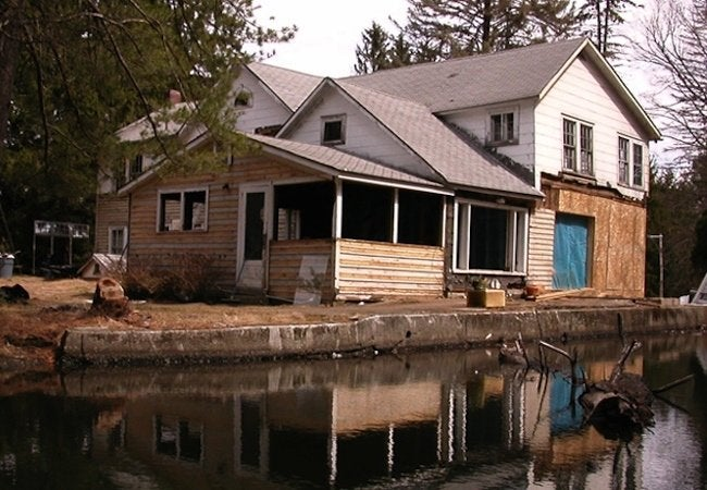 Floating Farmhouse - Before