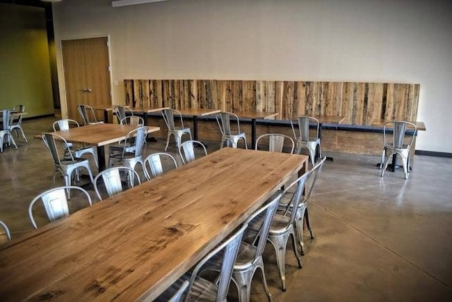 Dining Room Tables in Restaurant - Mwanzi