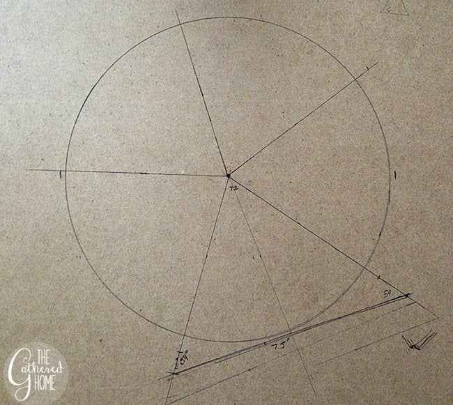 DIY Copper Pipe Light Geometry