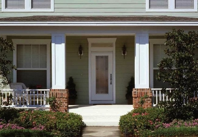 Front Door Maintenance - Glass Inset