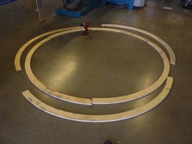 Hamster Standing Desk - Rings