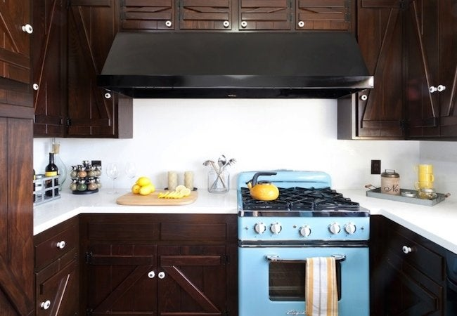 Big Chill Appliances - Pastel Blue Stove