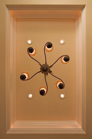 How to Install Recessed Lighting - Dining Room Detail