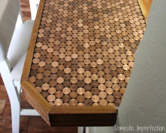 DIY Penny Countertop