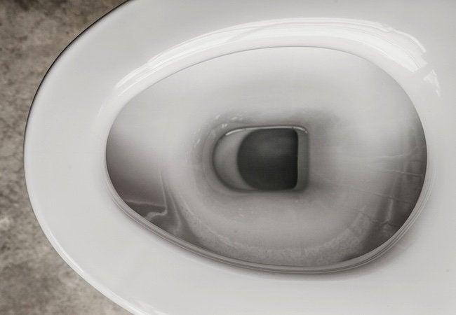 Basement Toilet