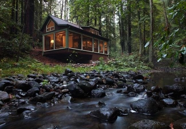 Amy Alper Creekside Cabin