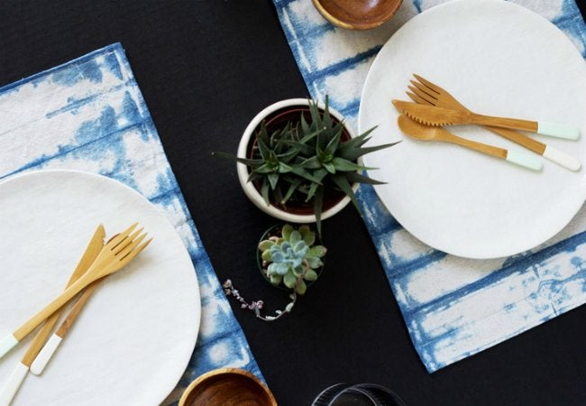 Uses for Drop Cloths - Place Mat